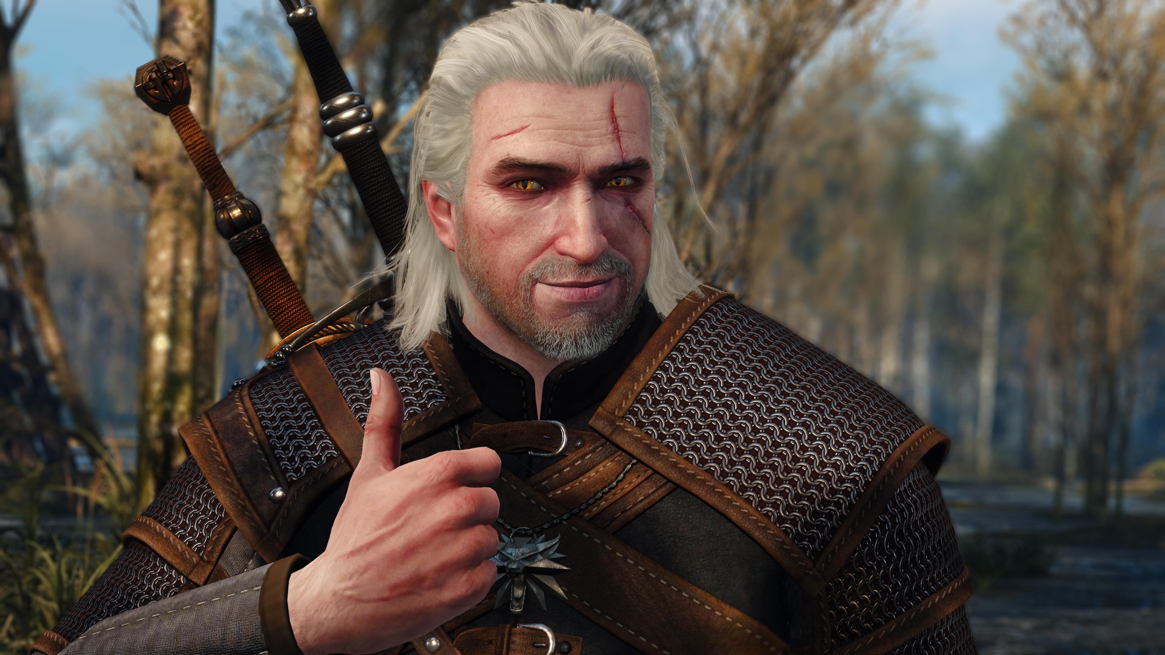 Znalezione obrazy dla zapytania witcher thumbs up